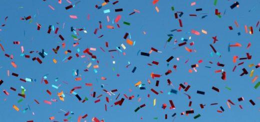 Ingen fest uden konfettirør