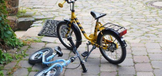 Sjov, fart og balance med en løbecykel