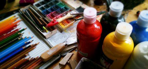 Køb malergrej til den lille eller store kunstner